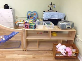 Nursery at Mt Zion UMC with separate infant area