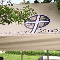 Men's Club Tent with Church Logo