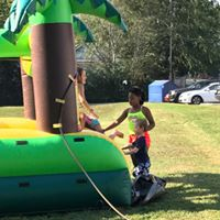Children's Activities at Mount Zion Water Day