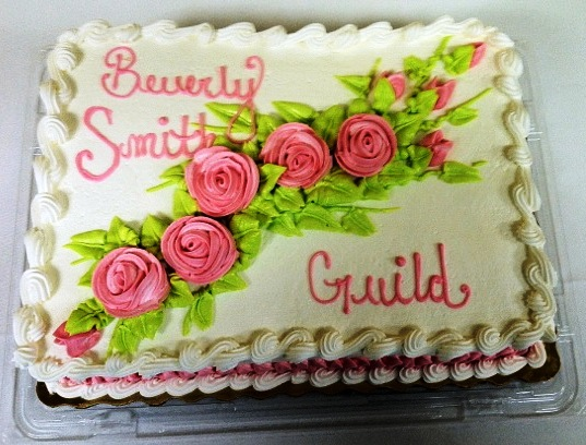 Beverly Smith Guild Cake